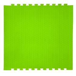 Напольное покрытие Lime Punch цвет салатовый 14 мм 30 шор