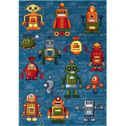 KOLIBRI (Ковер) 1,6*2,3  Роботы мультяшки 11230/149