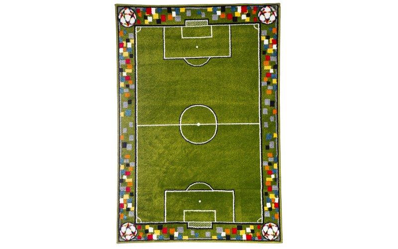 Детский коврик 1,60х 2,30 11118/130 Футбольное поле