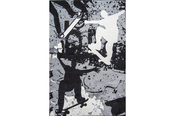 Ковёр Украина KOLIBRI Graffiti 1,60 х 2,30 11136/180 Скейтбордист