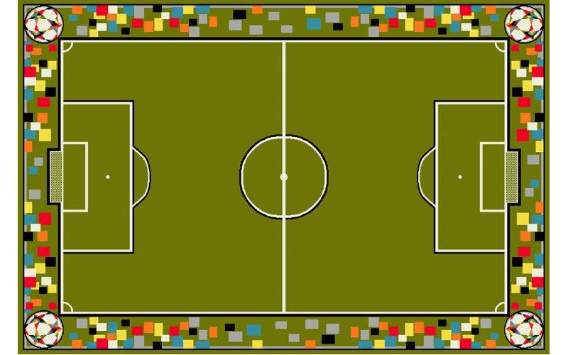 Детский коврик 2,00 х3,00 11118/130 Футбольное поле
