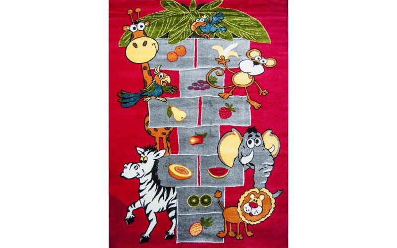 Детский коврик 1,60 х 2,30 11120/120 Красный / Классики