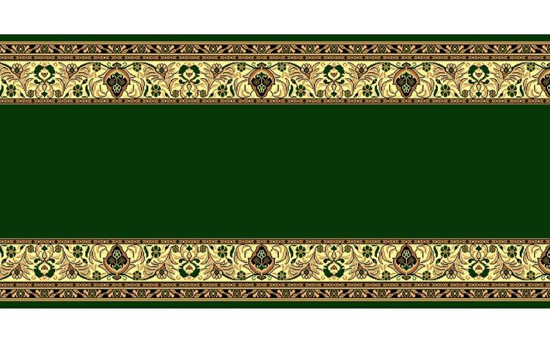 Кремлёвская дорожка BCF GOLD 046/32 Зелёная ширина 1,2