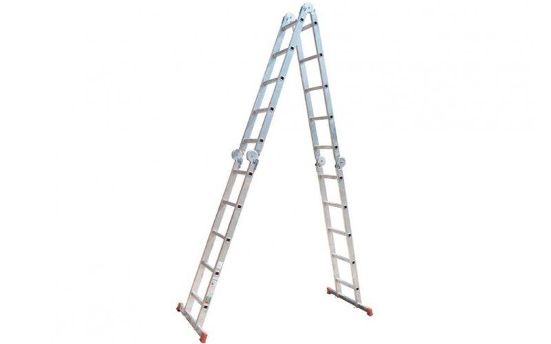Ал. лестница шарнирная МULTIMATIC 4х5   Н=1,4m/2,53m/5.22m  (120731)