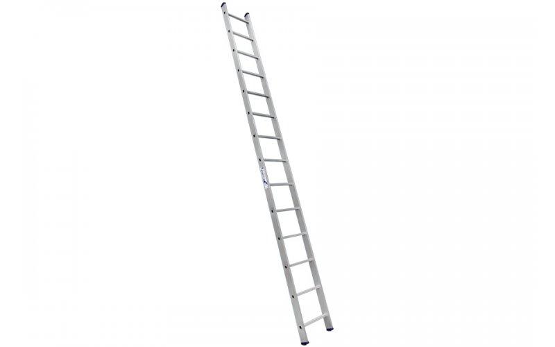 Алюминиевая лестница 1х10 Н=2,8/3,9м  (5110)