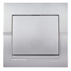 Deriy Выключатель серебристый металлик 702-2828-100