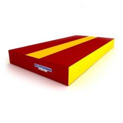 РОМАНА Мягкий щит pro (1000*500*100) красный/жёлтый