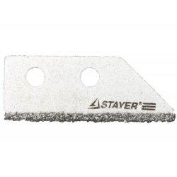 Лезиве Stayer pro сменное с карбидным напылением 33415-S2