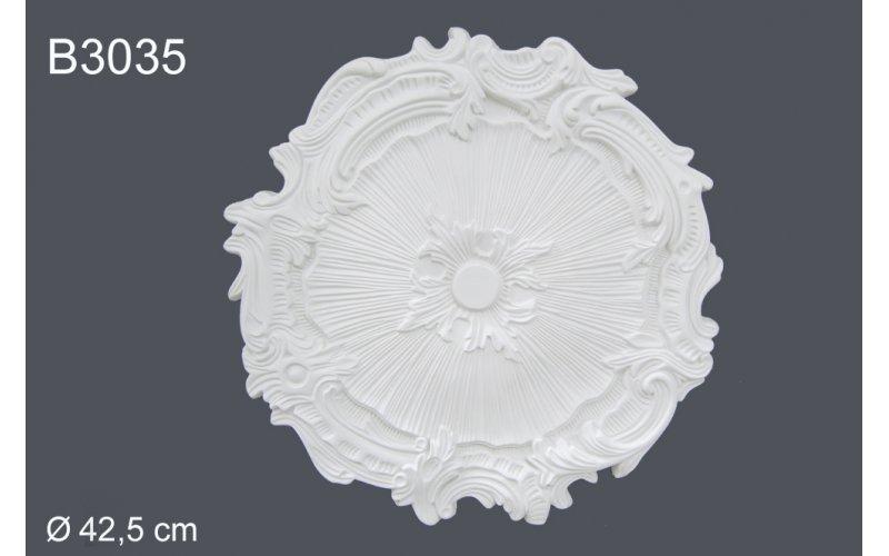 Декор розетка В3035 d 42.5 cm (полиуретан)