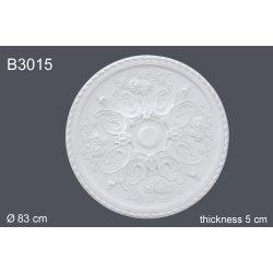 Декоративная розетка В3015 83см (полиуретан)