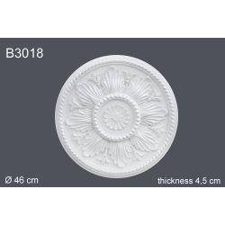 Декоративная розетка В3018 d 46 cm (полиуретан)