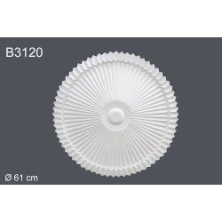 Декор розетка B3120 d 61cm (полиуретан)