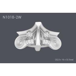 Капитель N1018-2 (32,5 x 16 x 32.5см) (полиуретан)