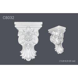 Декоративная консоль C8032 13,8*6,5*20 см (полиуретан)