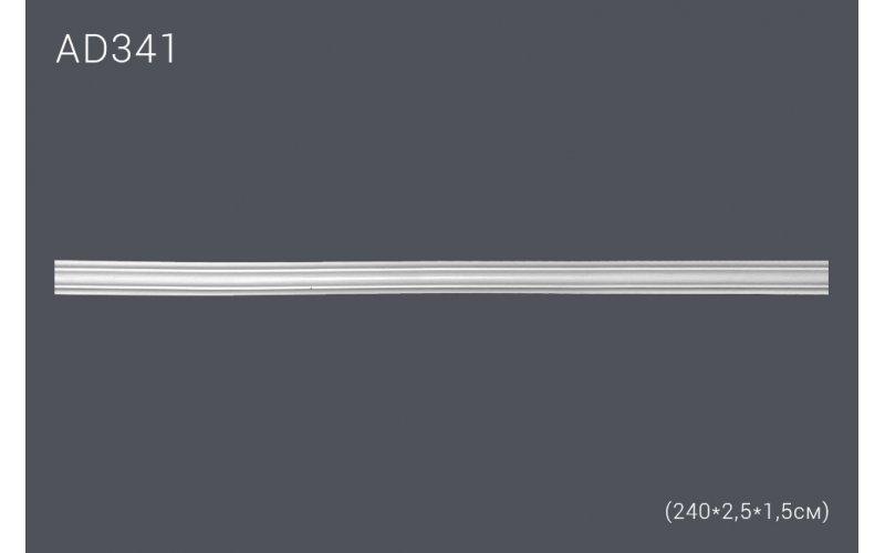 Гнущийся декор профиль AD341(240*2,5*1,5) (полиуретан)