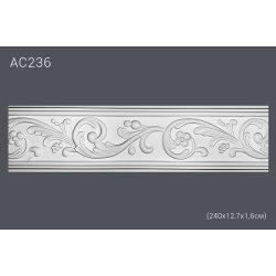Молдинг для стен с рисунком АС236 (полиуретан)