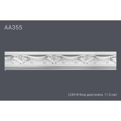 Декор профиль АА355 240*8*8см диагональ 11,3 см (45)