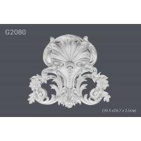 Декоративный орнамент G2080 (30.5 х26,7 х 2,5см) (полиуретан)