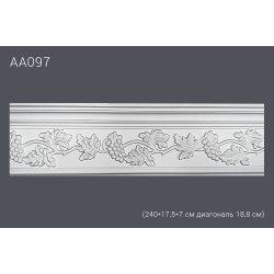 Декор профиль АА 097 240*17,5*7 см диагональ 18,8 см(15)