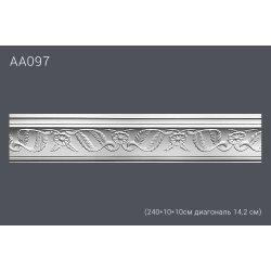 Декор профиль АА320 240*10*10см диагональ 14,2 см (28)