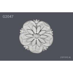 Декор розетка G2047 (15*15*2.4) (полиуретан)
