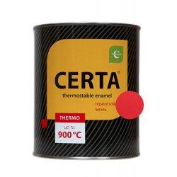 CERTA эмаль термост. антикоррозион. красный до 400°С (0,8кг)