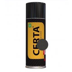 CERTA  эмаль термост. антикоррозион. черный до 750°С (аэрозоль)
