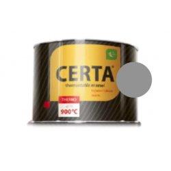 CERTA эмаль термостойкая антикоррозионная серебристо-серый до 600°С (0,4кг)
