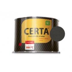 CERTA эмаль термостойкая антикоррозионная черный до 750°С (0,4кг)