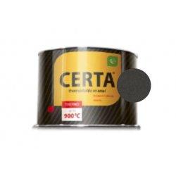 CERTA эмаль термостойкая антикоррозионная антрацит до 600°С (0,4кг)