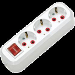 Колодка EGP-211*3 c/з с/выкл. 00047700