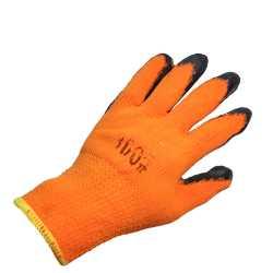 Резиновые перчатки оранжевые 300