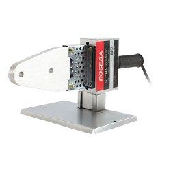 Аппарат для сварки пластиковых труб ПОБЕДА, ПТ-1800, 2000Вт, 6 насадок, стойка, отвёртка, металл. кейс