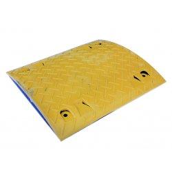 Лежачий полицейский 50х43х5см, желтый, 9013