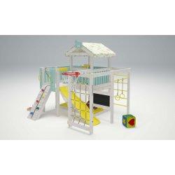 Детская игровая площадка Савушка Baby- 8 (голубой)
