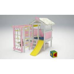 Детская игровая площадка Савушка Baby-1 (розовый)