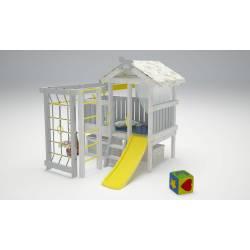 Детская игровая площадка Савушка Baby - 1 (серый)