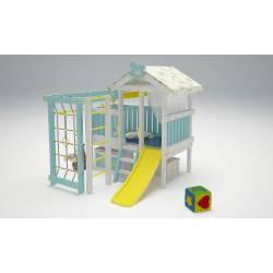 Детская игровая площадка Савушка Baby - 1 (голубой)