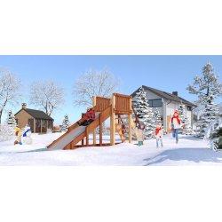 Детская игровая площадка Савушка Зима-2