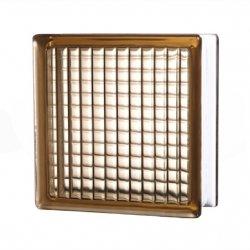 Стеклоблок parallel коричневый JH020