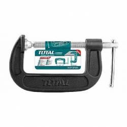 Струбцина TOTAL THT13151 тип G 125мм