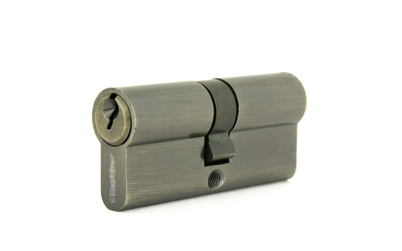 Цилиндровый механизм PALADIUM 70 мм ключ-ключ старая бронза 67226