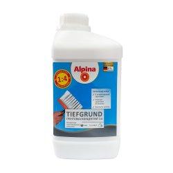 Грунтовка Alpina Tiefgrund концентрат 1 л