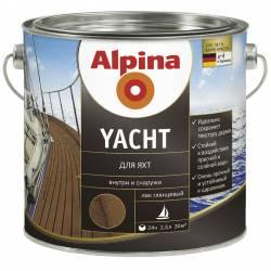 Лак алкидн. Alpina Для яхт (Alpina Yacht) глянцевый 750 мл / 0,675 кг
