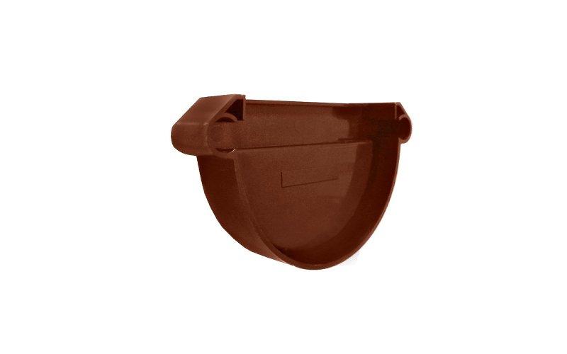 Заглушка желоба универсальная MUROL коричневая клей