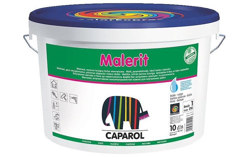 Краска акрил. в/д Caparol Malerit (Капарол Малерит) База 1, 2,5л