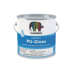 Эмаль полиуретан. акрил. Caparol Capacryl PU-Gloss (Капарол Капакрил ПУ-Глосс) База транспа