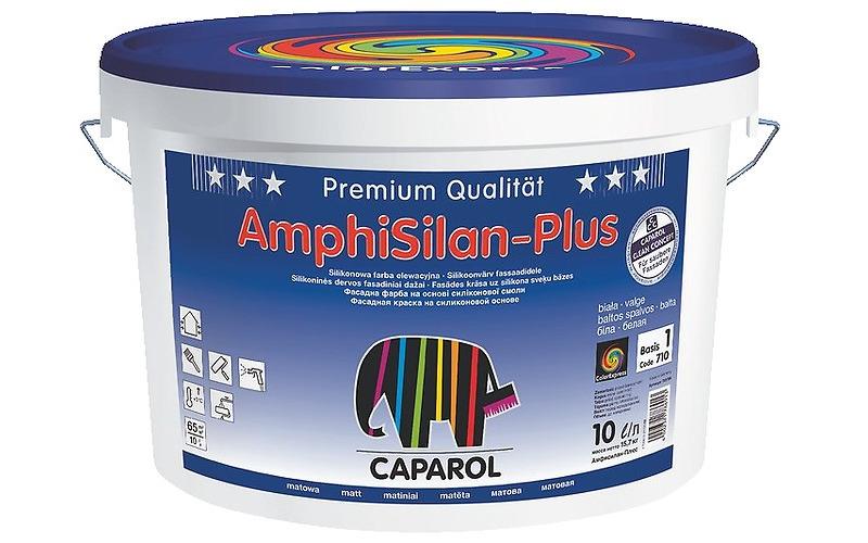 Краска силикон. в/д Caparol AmphiSilan-Plus (Капарол АмфиСилан-Плюс) База 1, 10л / 15,6 кг