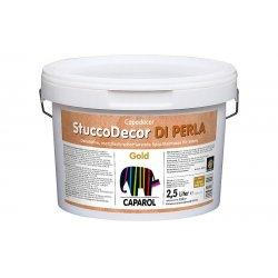 Материал лакокрасочный декоративный Capadecor Stucco Di Perla Gold 2.5л