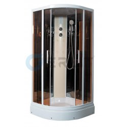 Душевая кабина ER5709P-C25 900*900*2150,Низкий поддон,светлое стеклл